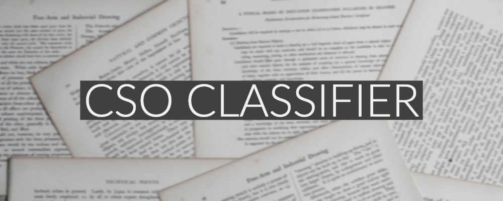 Project - CSO Classifier