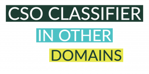How to use the CSO Classifier in other domains