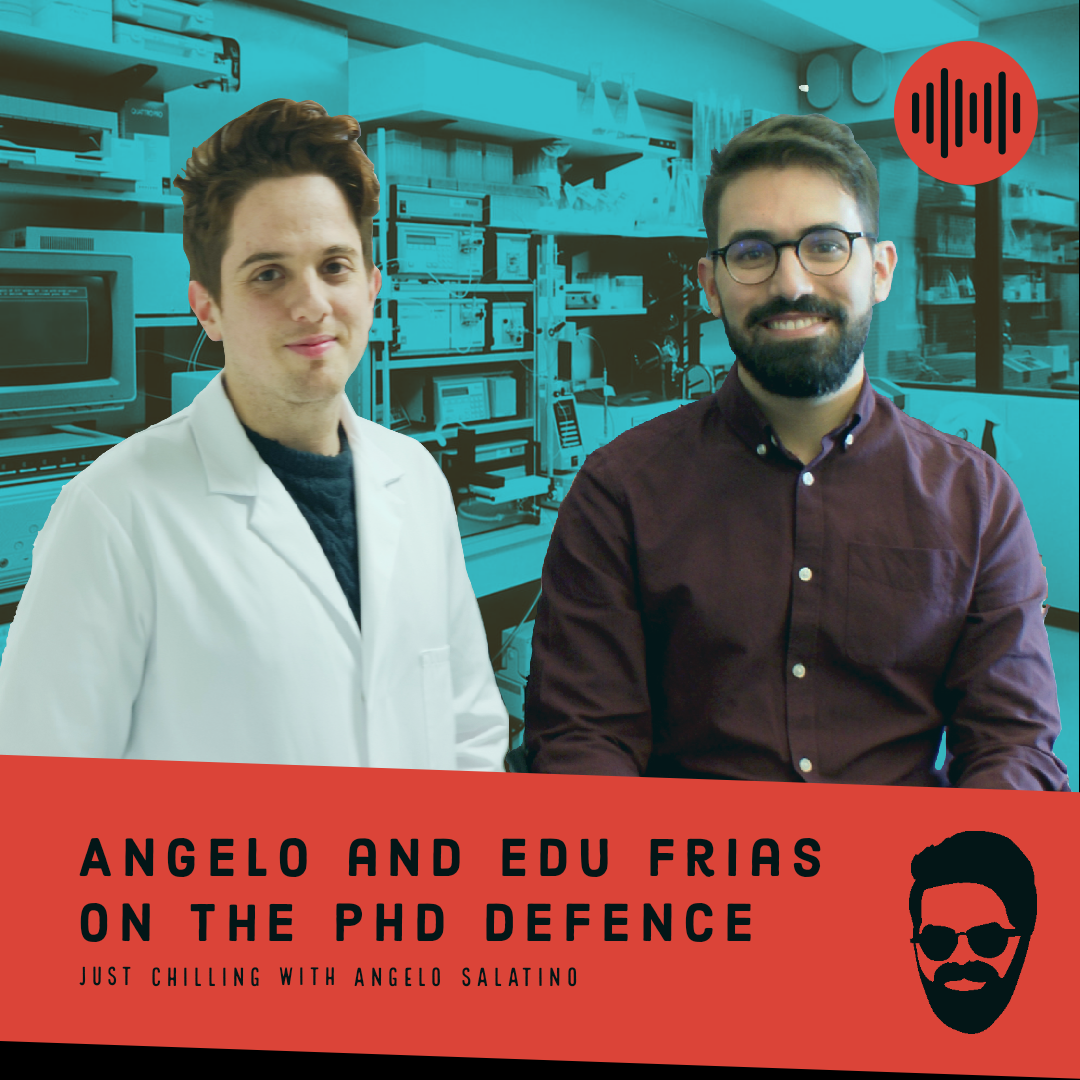 Project - Angelo and Edu Frias on the PhD Defence