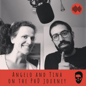 Angelo and Tina on the PhD journey