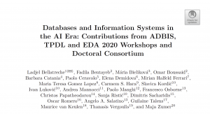 Databases and Information Systems in the AI Era: Contributions from ADBIS, TPDL and EDA 2020 Workshops and Doctoral Consortium